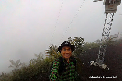 Misty Morning in Mt. Galunggung through my Phone Camera