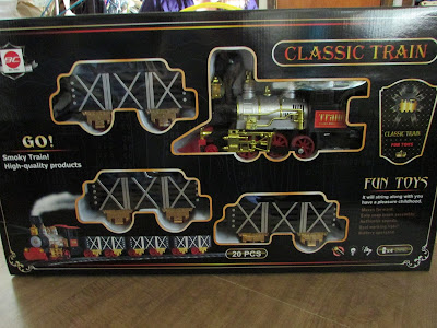 Best Choice Products Kids Classic Battery Operated Train Set with Real Smoke, Music & Lights
