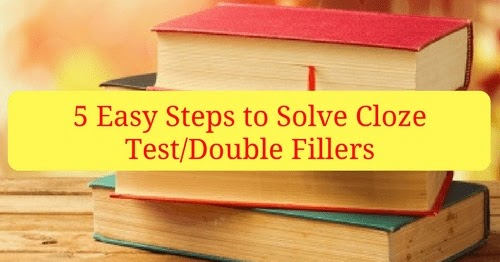 cloze test for bank exams pdf