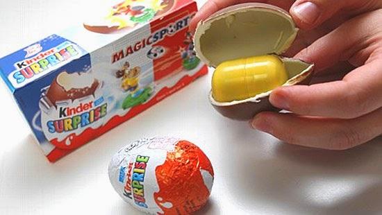 Kinder ovo com surpresa