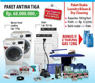 Paket%2BAntina%2BTiga Peluang Usaha Laundry di Jakarta