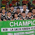 Kid Players of La Salle Greenhills Make a Three-Peat Win in the Ball Game!