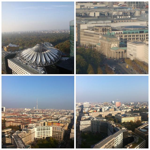 Berlim vista do Panorama Punkt, Potsdamer Platz