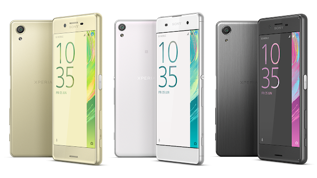 Sony Xperia X, Xperia XA and Xperia X Performance