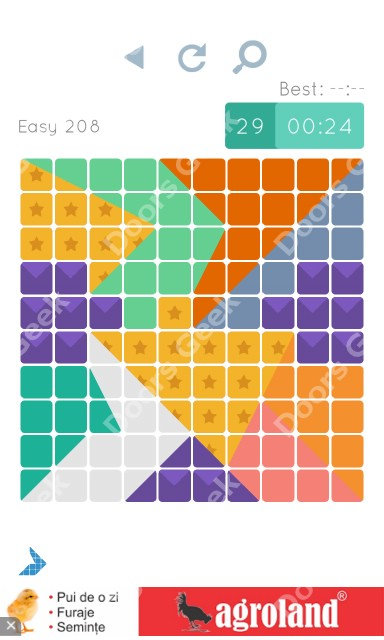 Cheats, Walkthrough for Blocks and Shapes Level 208