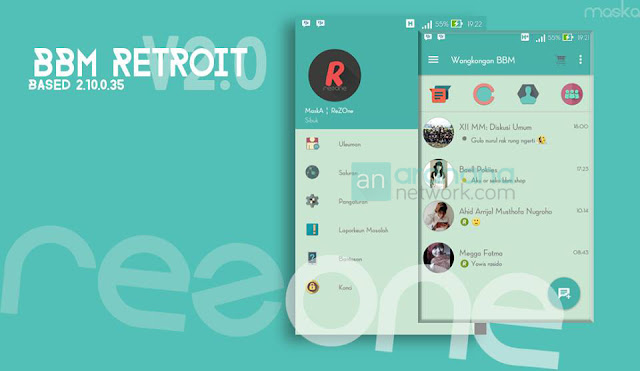 Preview BBM RetroIT V2 - Ardhana Network