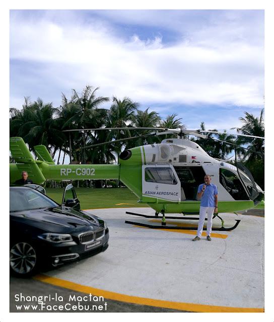 Shangri-la Mactan Resort and Spa General Manager René D. Egle