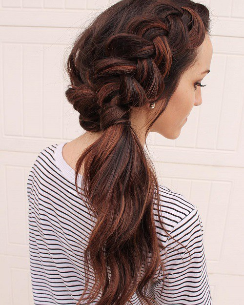 Gorgeous Side Ponytails Ideas The Haircut Web