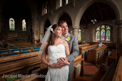 Hampshire Wedding Photography in Warsash Church, Hampshire