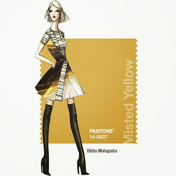 Pantone Fall 2014 Color Report Misted Yellow 14-0837