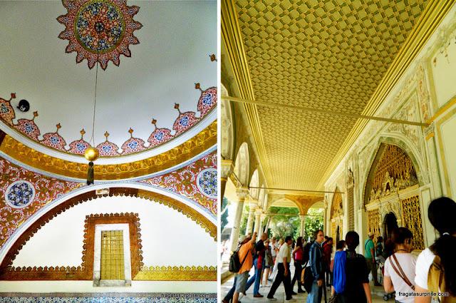 Pavilhão do harém do Palácio de Topkapi, em Istambul