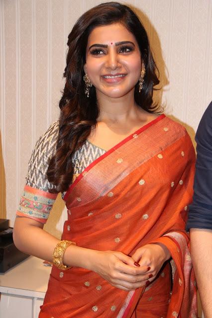 samantha stills at south india shopping mall