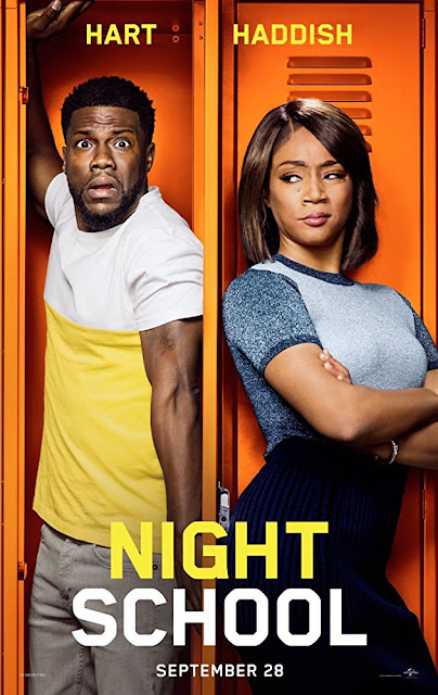 Night School 2018 movie poster Kevin Hart Tiffany Haddish