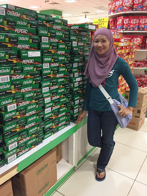 SHOPPING COKLAT DI HIG