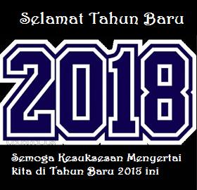 Kartu Ucapan Tahun Baru 2018