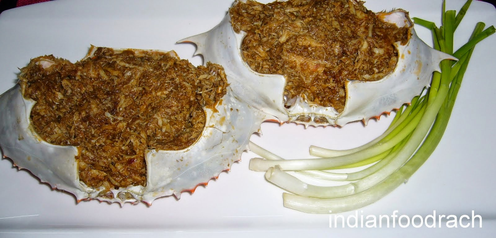Stuffed Crab (South Indian style) Recipe