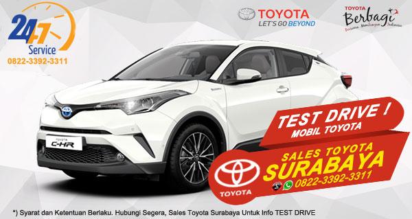 Info Test Drive Toyota C-HR Surabaya