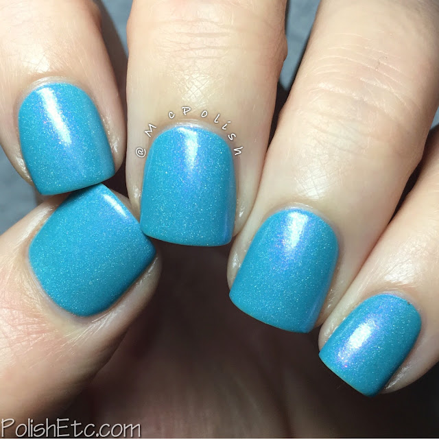 Takko Tuesday - Blue Flamingo: MIA - McPolish