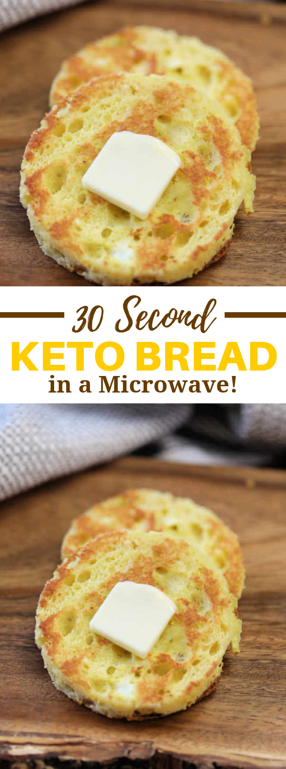 THE BEST 90 SECOND BREAD RECIPE #keto #lunch
