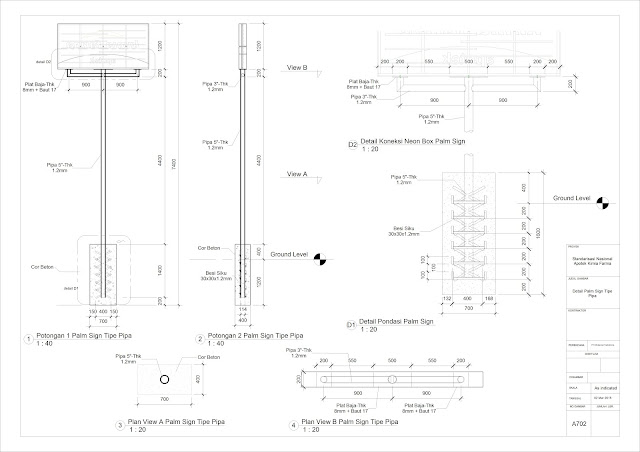 Image Result For Konstruksi Neon Box