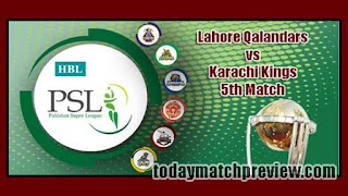 PSL 2019 Karachi vs Lahore Today Match Prediction Dream11 Squad