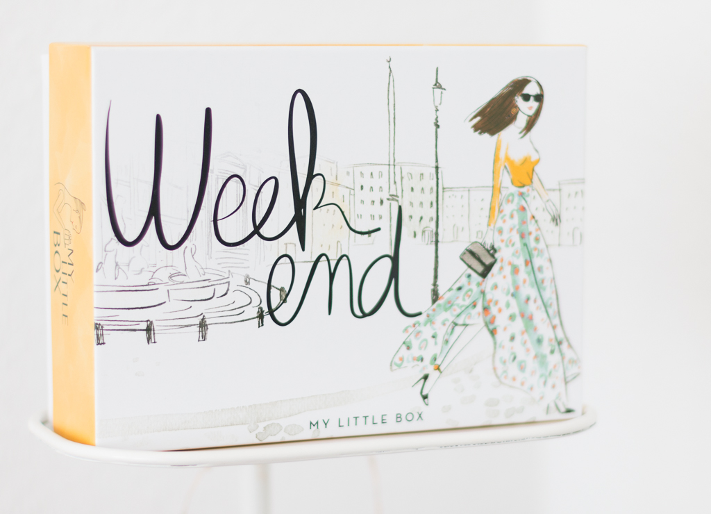 My Little Weekend Box Mai 2016 Design Aussen