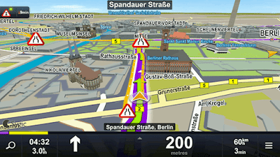 Sygic GPS Navigation & Maps V17.2.2 (Full) Apk Terbaru