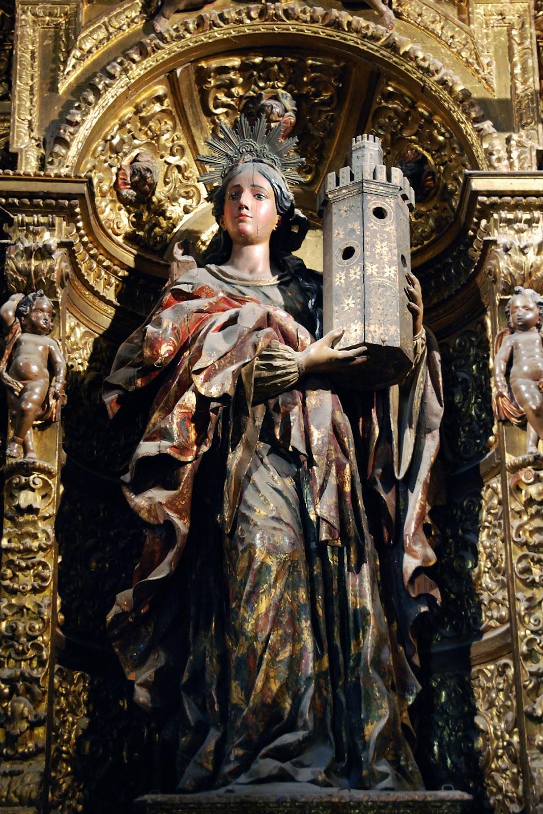 Santa Bárbara de la catedral de Sevilla