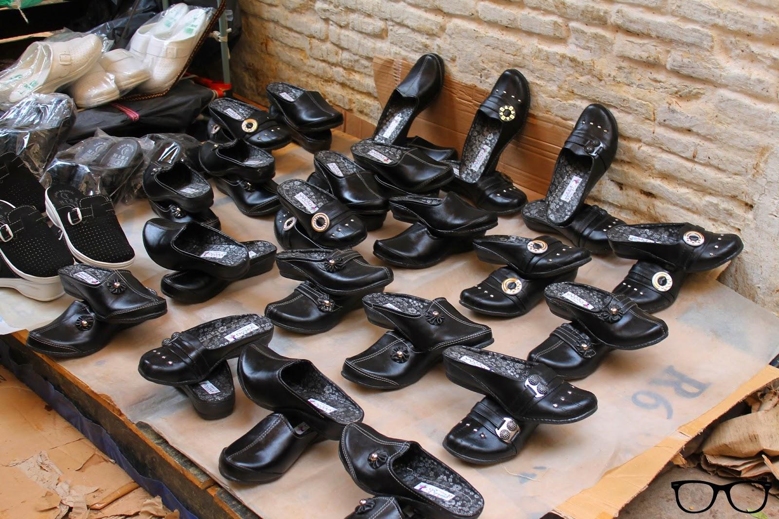 Zapatos del zoco