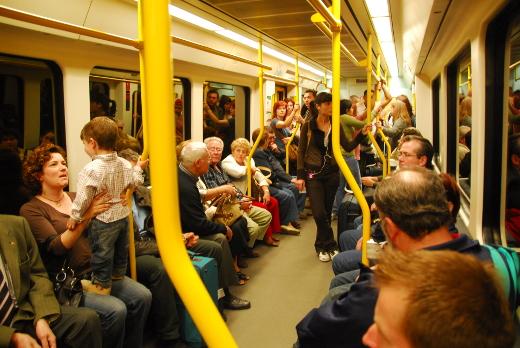 Metrovalencia desplazó en marzo a 7 millones de viajeros