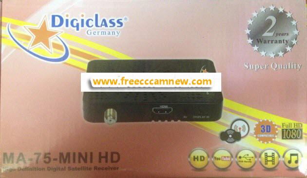 شرح تحديث جهاز DIGICLASS MA-75 MINI HD,شرح تحديث جهاز, DIGICLASS MA-75 MINI HD,
