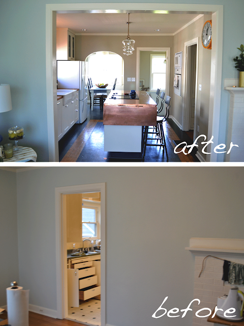 Removing Wall Between Kitchen And Family Room: A Home In The Making: {renovate} Kitchen REVEAL