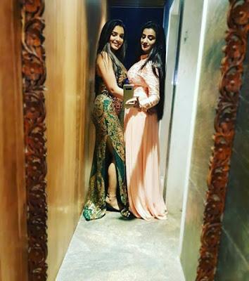 Instagram Selfie Picture:भोजपुरी सिनेमा के दो खूबसूरत हीरोइन आम्रपाली दुबे और अक्षरा सिंह