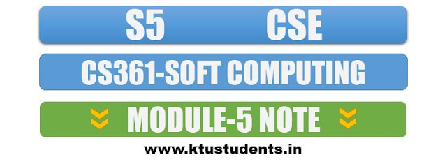cs361 soft computing note module5