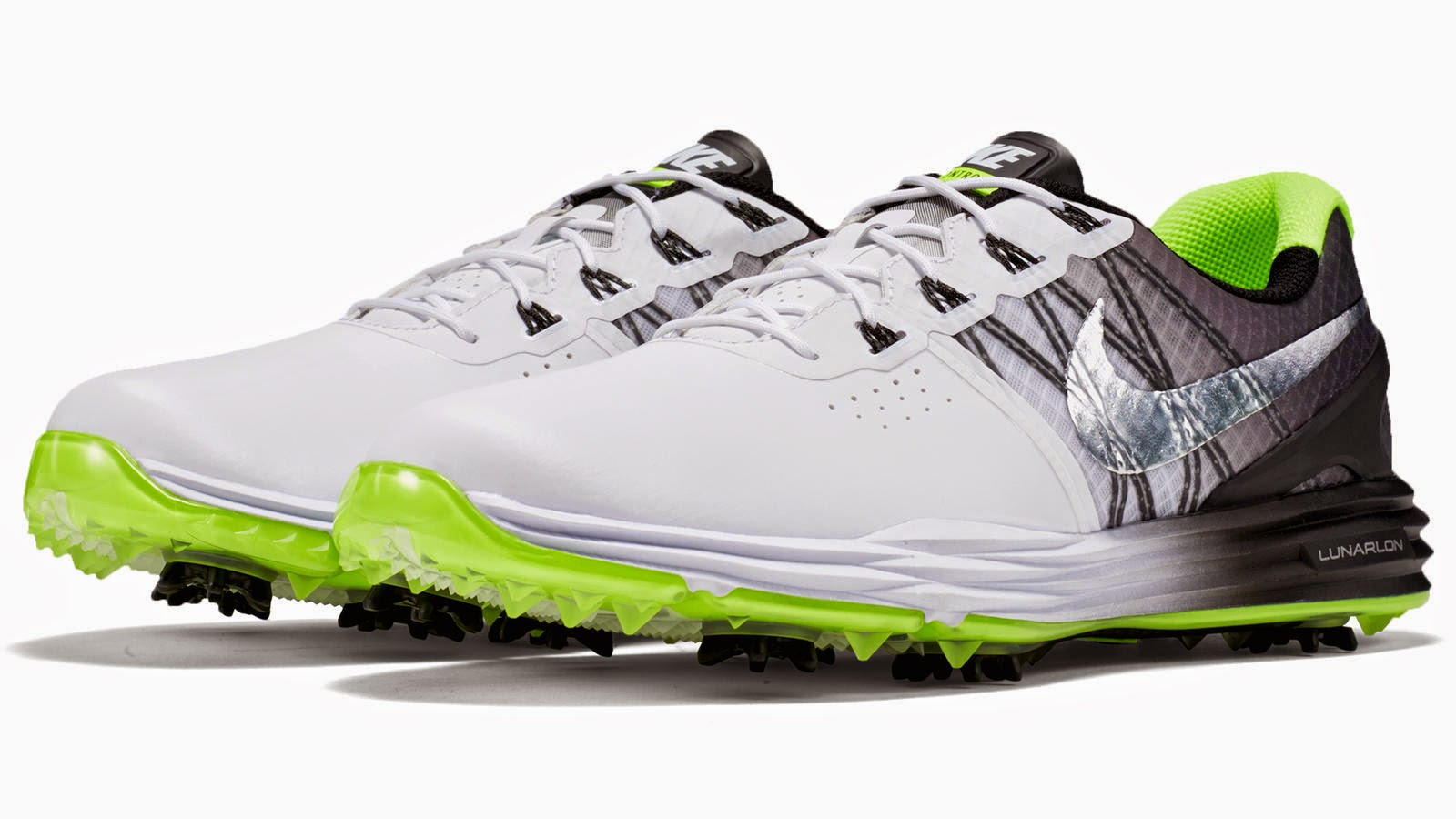 (RELEASE) - Four-time Major winner Rory McIlroy laced up a limited-edition Nike  Lunar Control 3 shoe for his final round. This version of the Nike Lunar ... c893a9e45