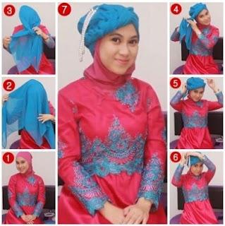 Tutorial Hijab Untuk Kebaya Wisuda Model Favorit Tahun Ini