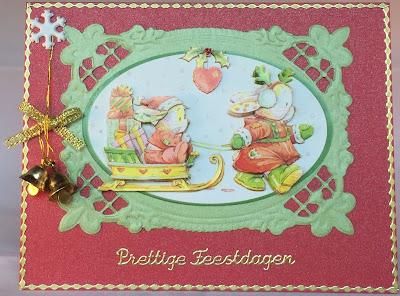Some Bunny to Love Christmas card
