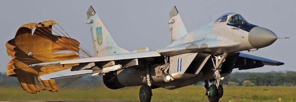 ЗСУ придбають 20 гальмівних парашутних систем для Міг-29