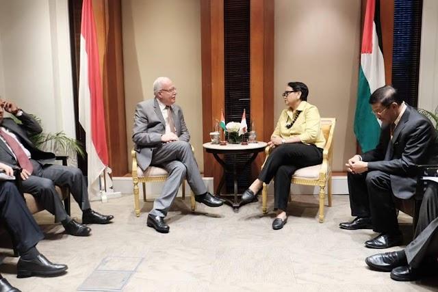 PEMERINTAH INDONESIA BERIKAN 2JUTA DOLLAR UNTUK PALESTINA