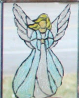 Angel (painting on glass) :: All Pretty Things