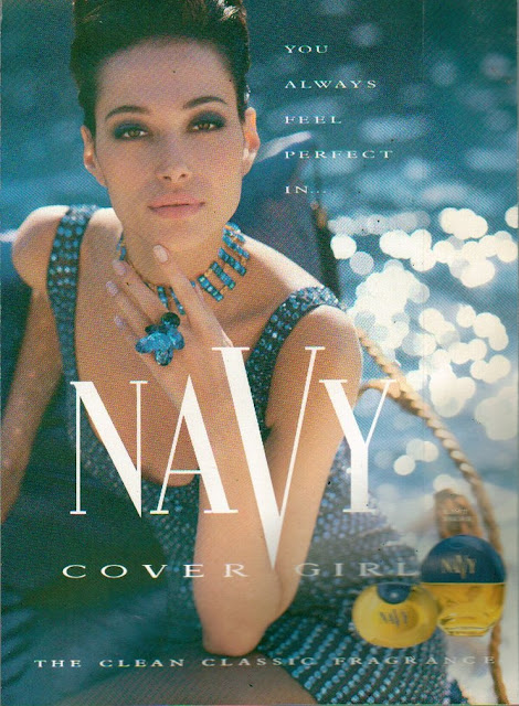 NAVY Perfume Cover Girl May 1992 Cosmopolitan Magazine