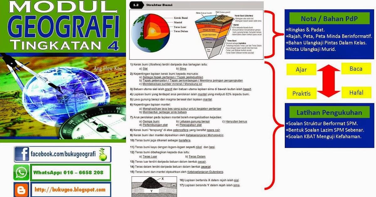 Soalan Geografi Fizikal Tingkatan 4 - Contoh Nis