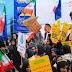Rakyat Iran Gelar Unjuk Rasa Nasional Mengenang Ambilalihan Kedutaan AS