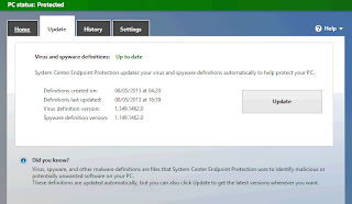 Update Microsoft Anti Virus