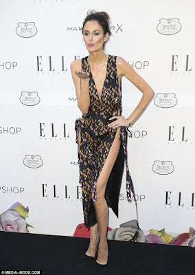 Nicole Trunfio - 2015 Elle Style Awards