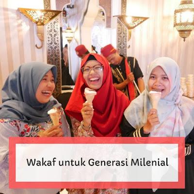 wakaf generasi milenial