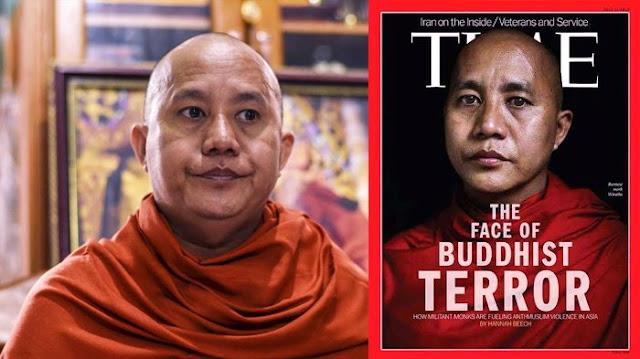 Teroris Berjubah Itu Bernama Wirathu, Ini 6 Fakta Wirathu Yang Sangat Mengerikan