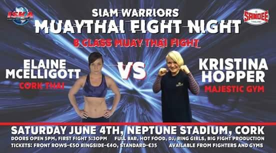 Majestic Gym Wigan Kristina Hopper Muay Thai kick boxing