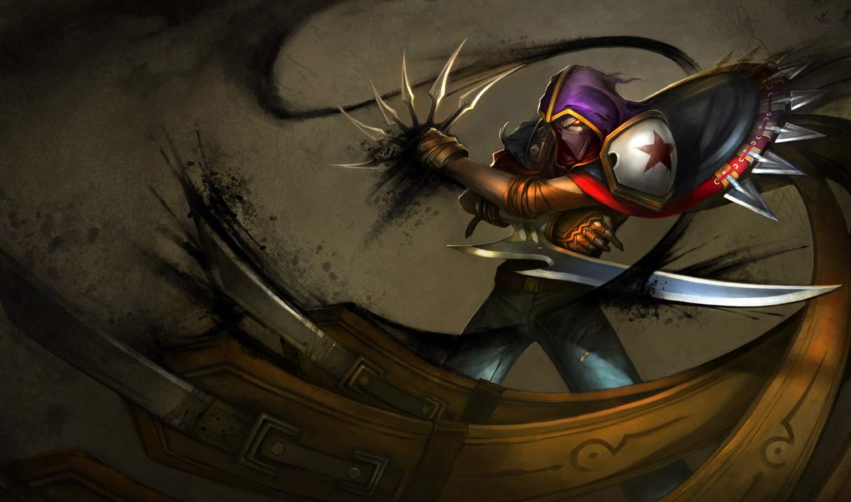 League of Legends: Talon Wallpapers (Chinese + American ...