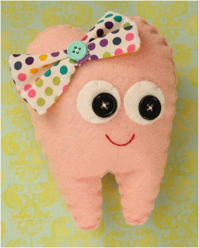 bebeğe el yapımı ilk diş hediyeleri
